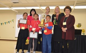 GGUSD Names Elementary School Spelling Bee Champ - article thumnail image