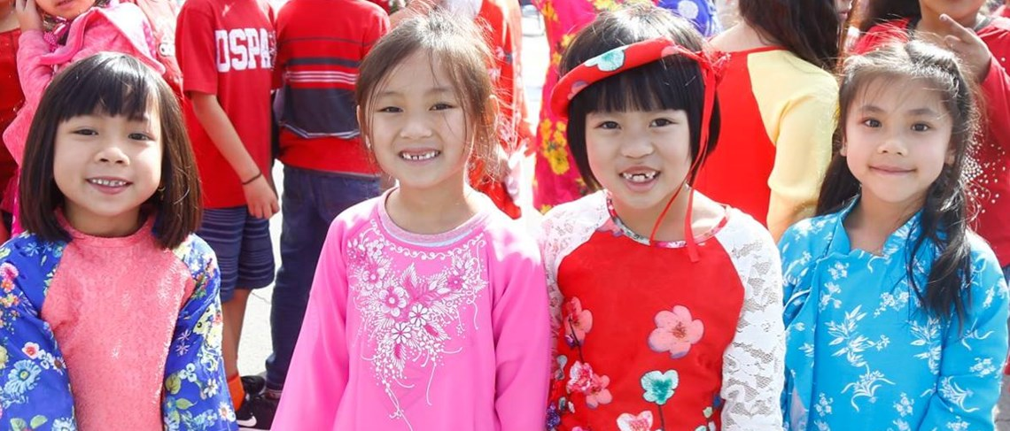 Lunar New Year Celebration at Excelsior Elementary