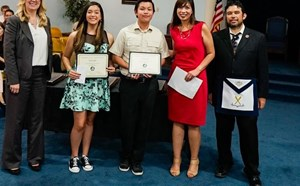 Garden Grove Masons Recognize GGUSD Students for Determination - article thumnail image
