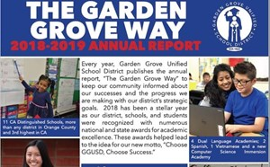 GGUSD's 2018-2019 Annual Report to Community Highlights Academic Gains - article thumnail image