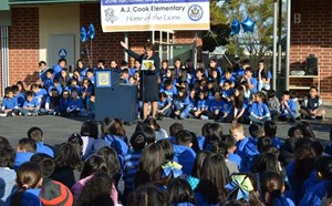 Cook Elementary School Earns Top National Recognition for Student Success - article thumnail image