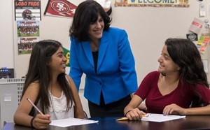 GGUSD Receives Prestigious Golden Bell Award for Successful Mentoring Program - article thumnail image